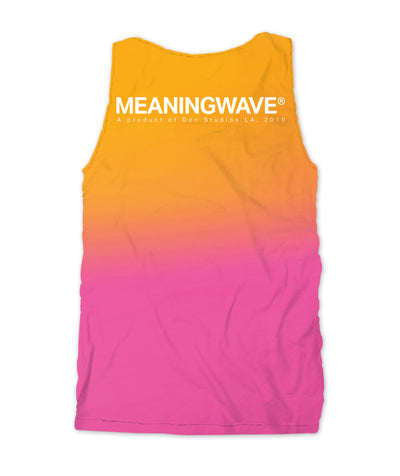 Meaningwave Sunset Men's Tank