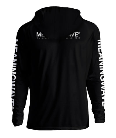 Meaningwave - WHITE Logo Classic Hoodie