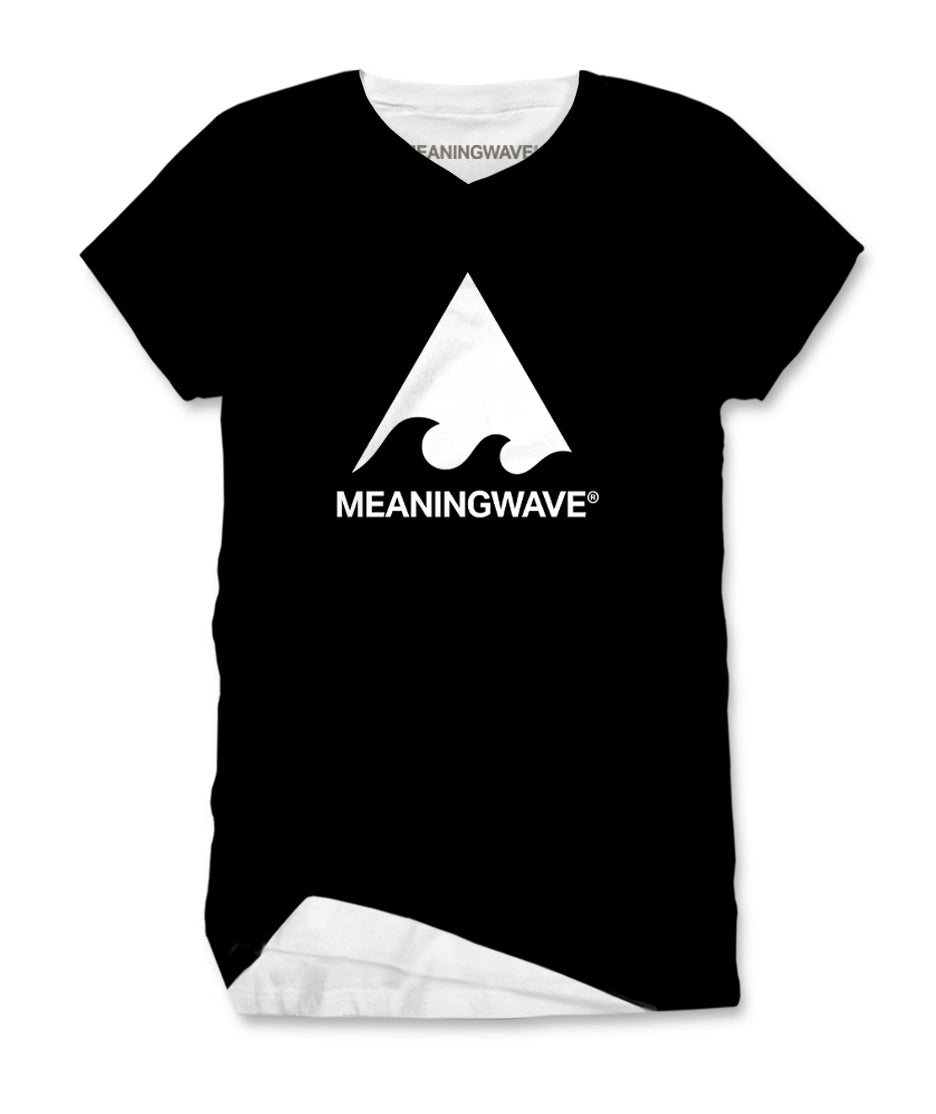 Meaningwave - WHITE Logo Classic Women's T-Shirt
