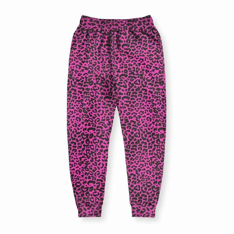 Meaningwave Neon Leopard Men's Joggers
