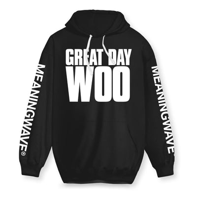Great Day Woo Cotton Hoodie