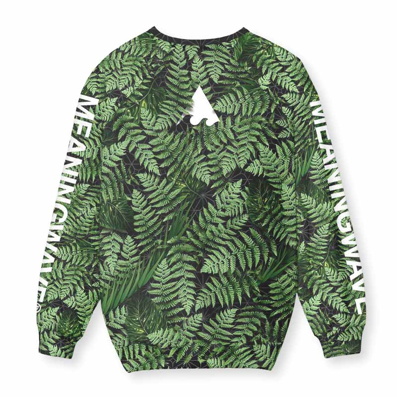 MEANINGWAVE AESTHETIC FERN Sweatshirt