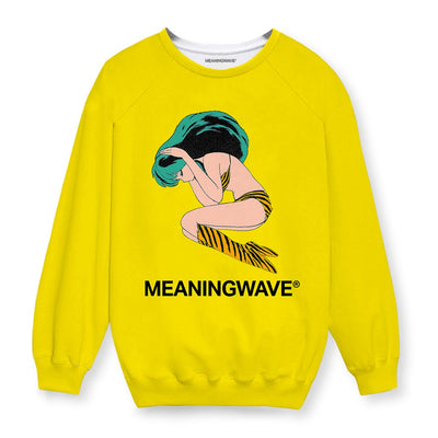Meaningwave - Yellow Lum Sweatshirt