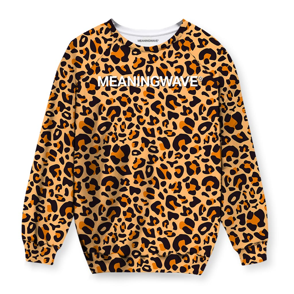 Meaningwave Leopard Sweatshirt