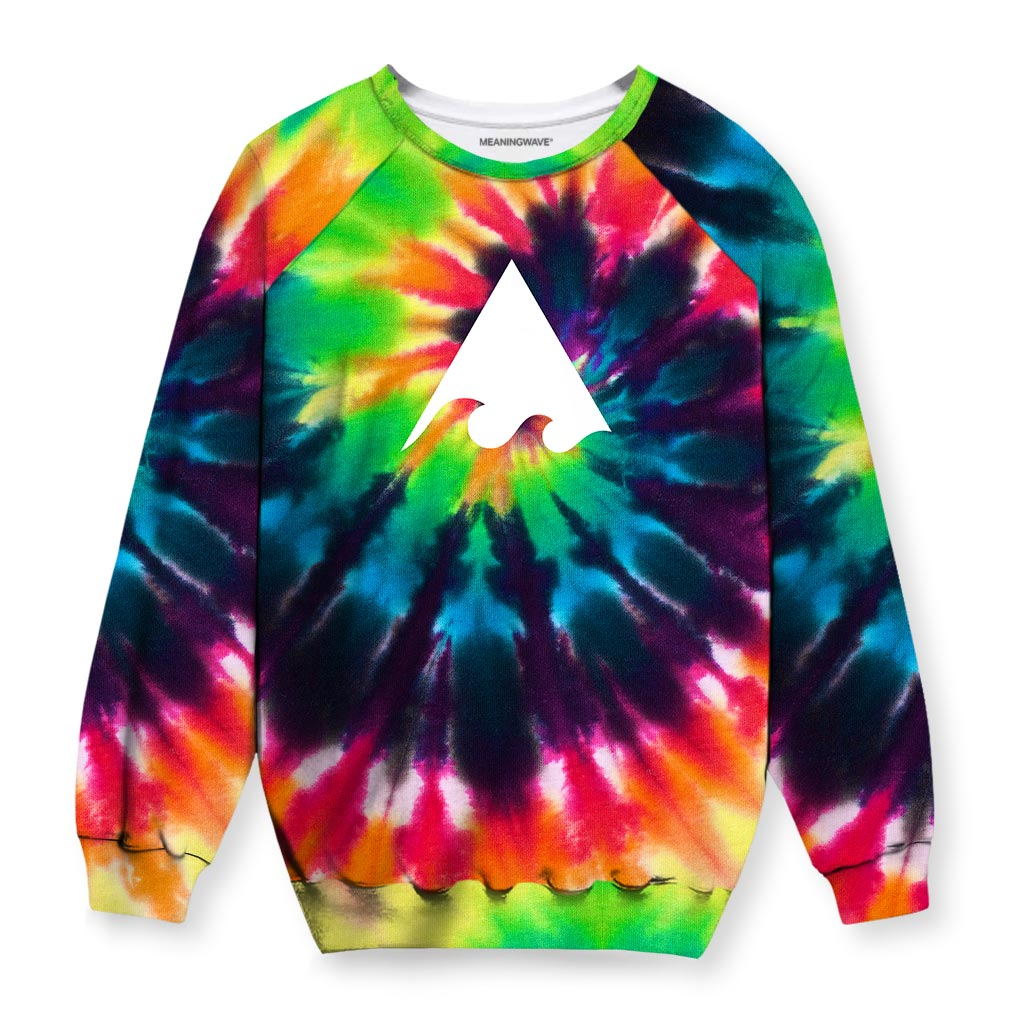 Meaningwave Tyedye Sweatshirt