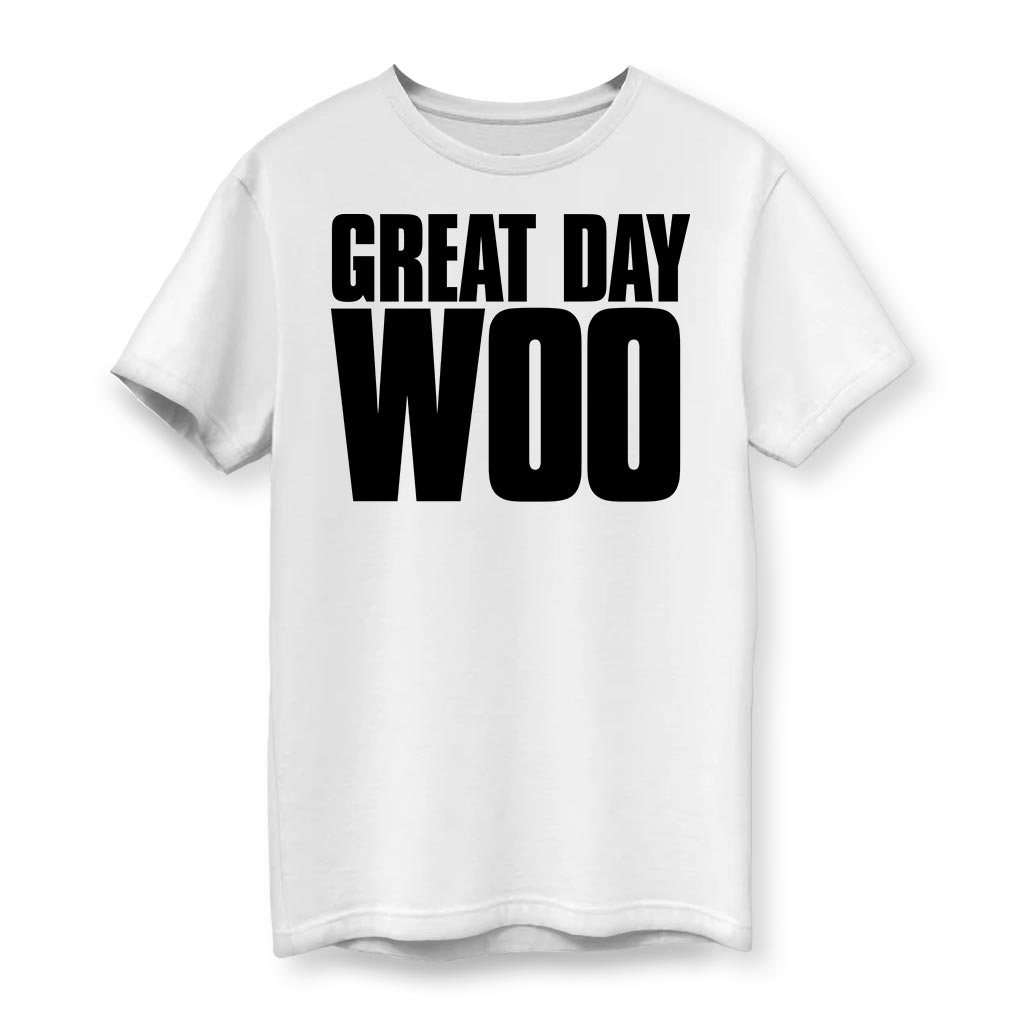 Great Day Woo Men's Cotton T-Shirt
