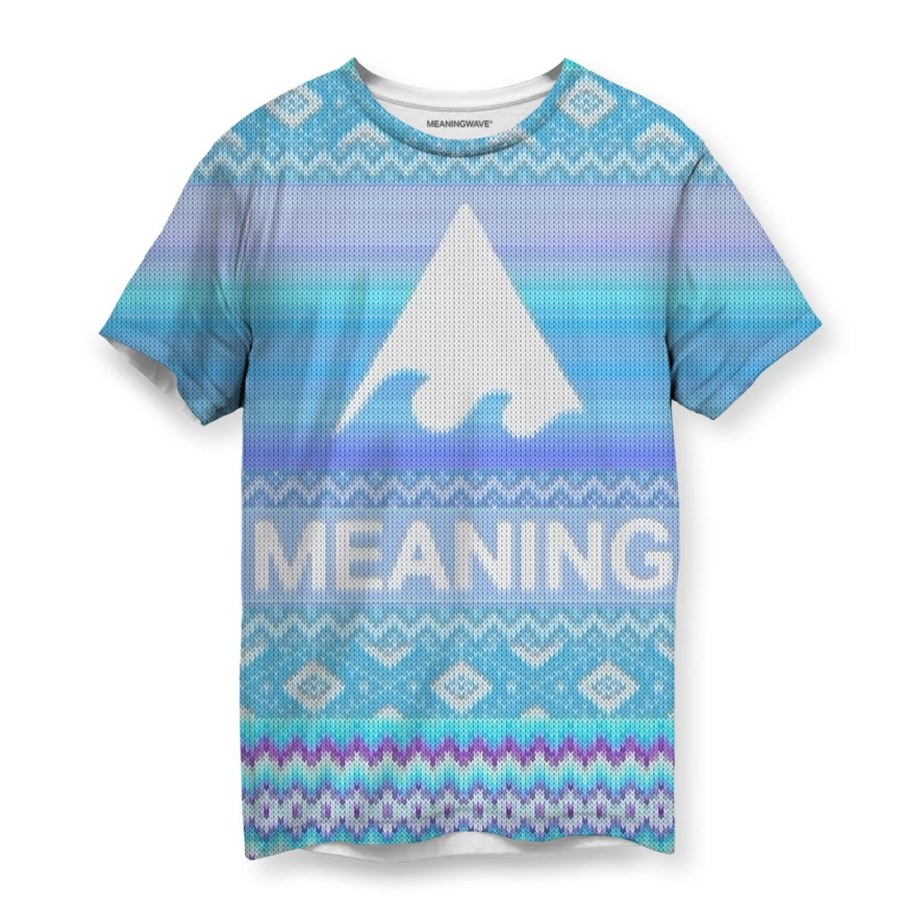 MEANINGWAVE CHRISTMAS Mens's T-Shirt