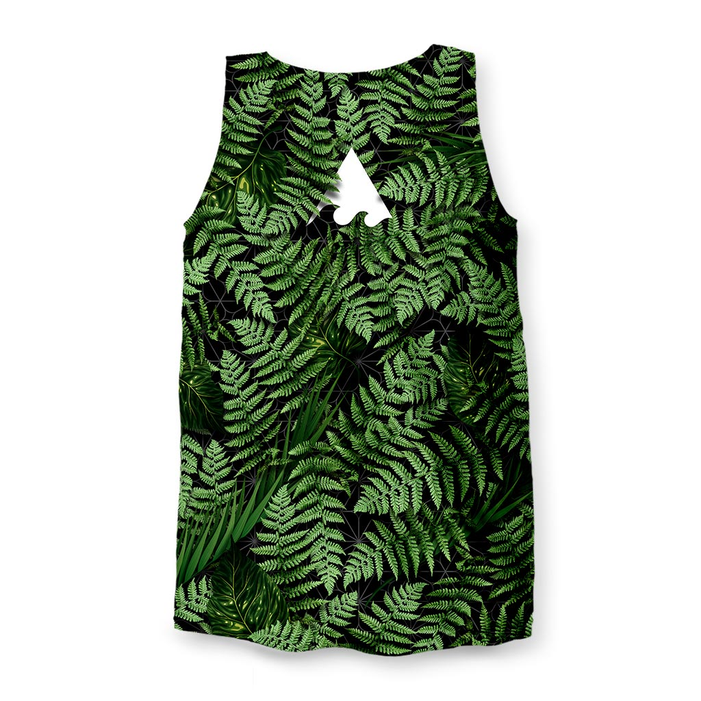 MEANINGWAVE AESTHETIC FERN Men's Tank