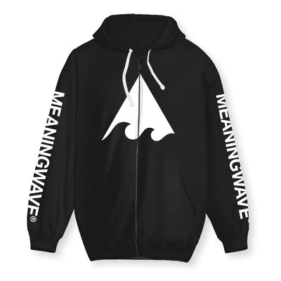 Meaningwave Classics Cotton Zip-Up Hoodie
