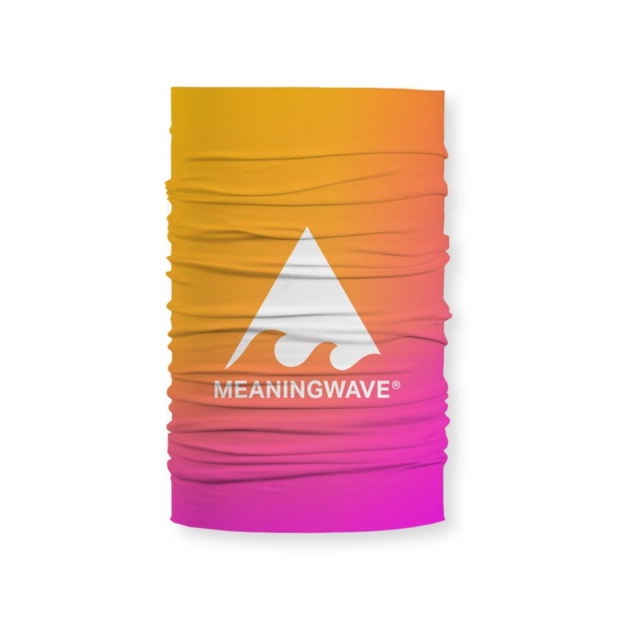 Meaningwave Sunset Neck Gaitor