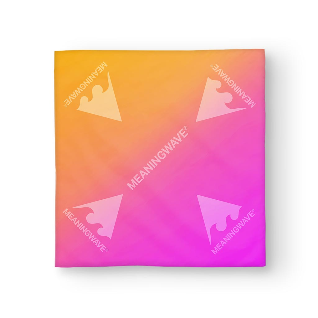 Meaningwave Sunset Bandana