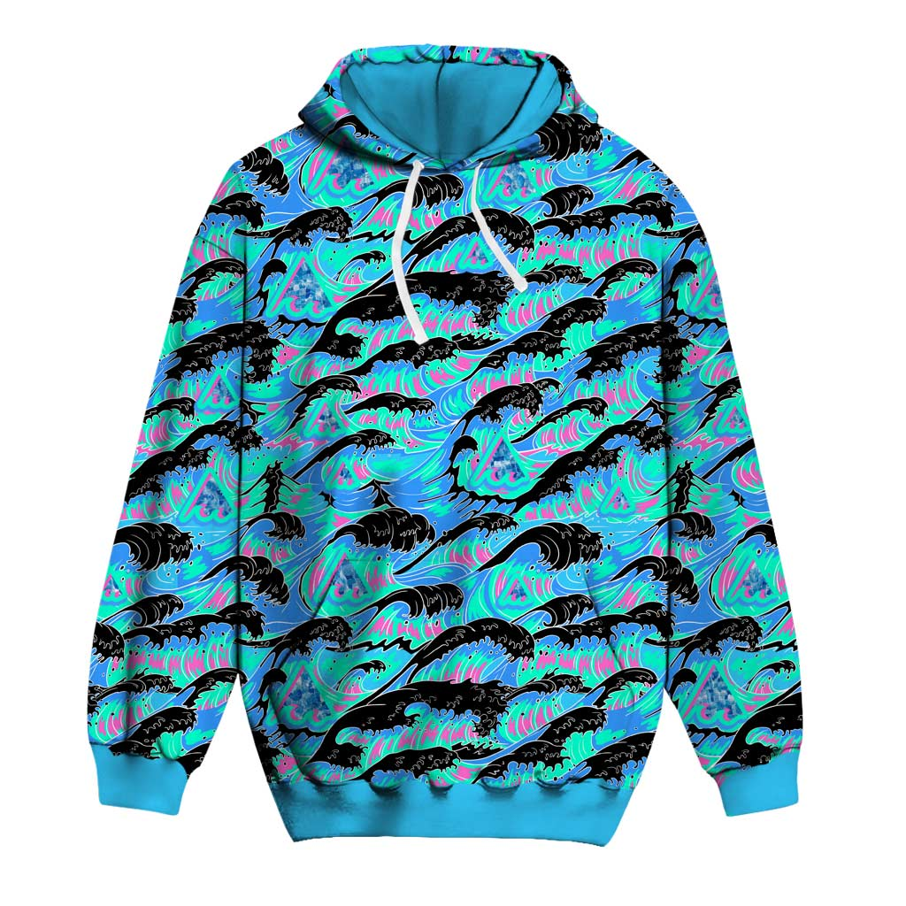 THE GREAT WAVE OF MEANING Hoodie