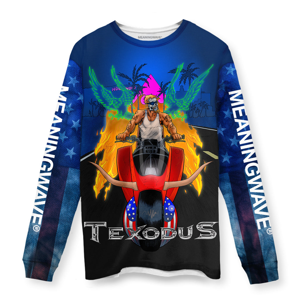 TEXODUS Long Sleeve Tee