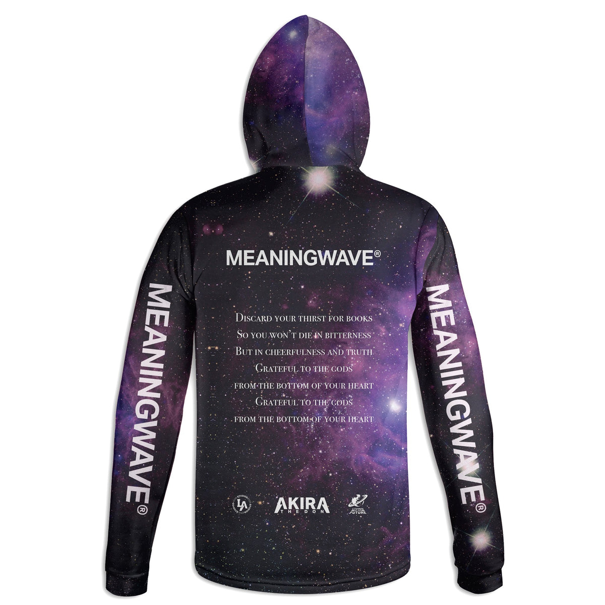 AKIRA THE DON & MARCUS AURELIUS - GRATEFUL TO THE GODS Hoodie | meaningwave.com