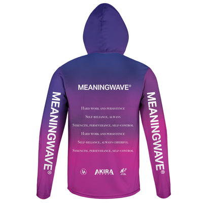 AKIRA THE DON & MARCUS AURELIUS - SELF CONTROL Lightweight Hoodie | meaningwave.com