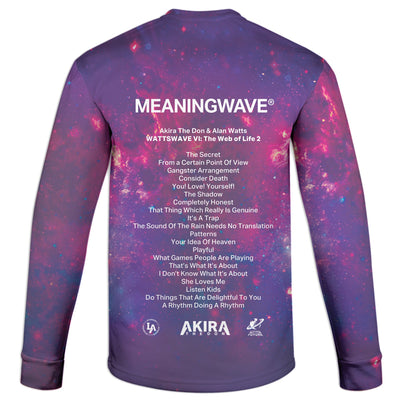 ALAN WATTS - WATTSWAVE VI Sweatshirt | Fabrifaction.com