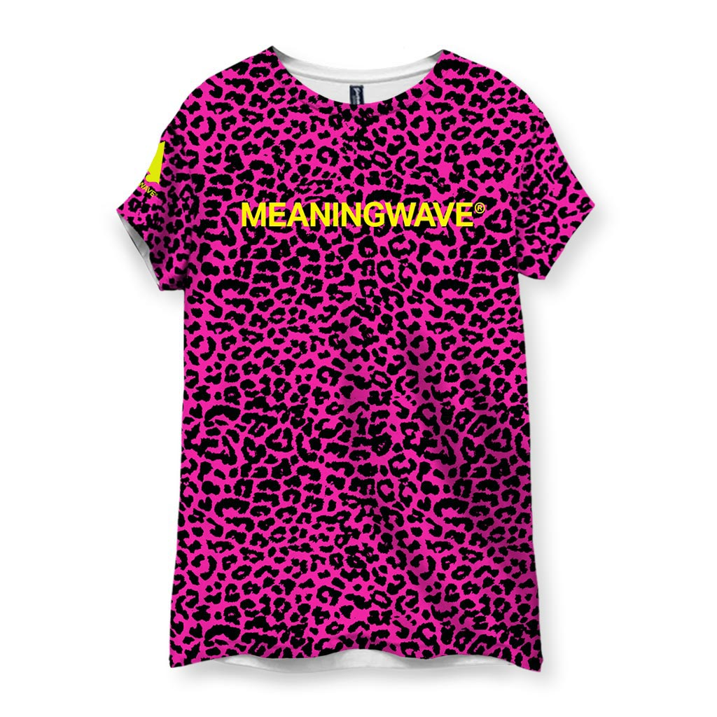 Meaningwave Neon Leopard Women's T-Shirt
