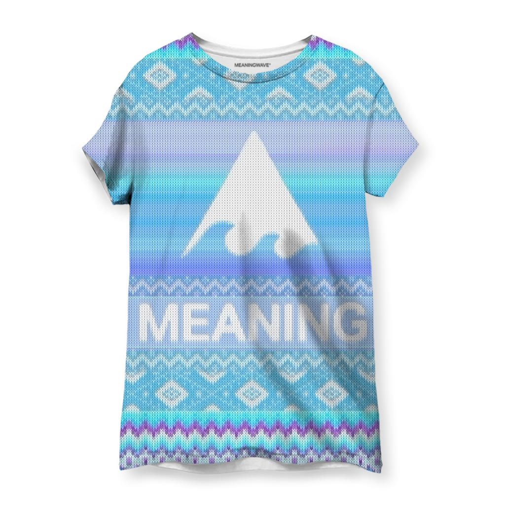 MEANINGWAVE CHRISTMAS Women's T-Shirt