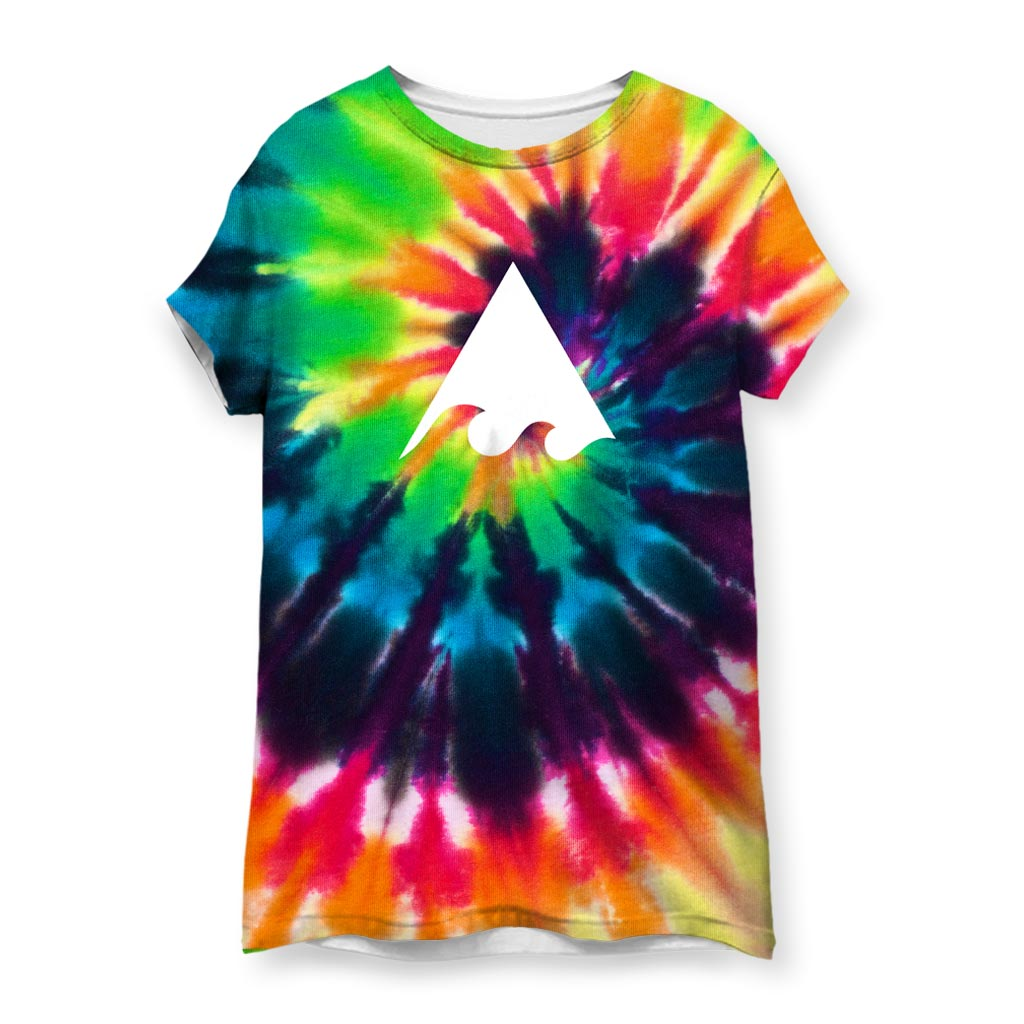 Meaningwave Tyedye Women's T-Shirt