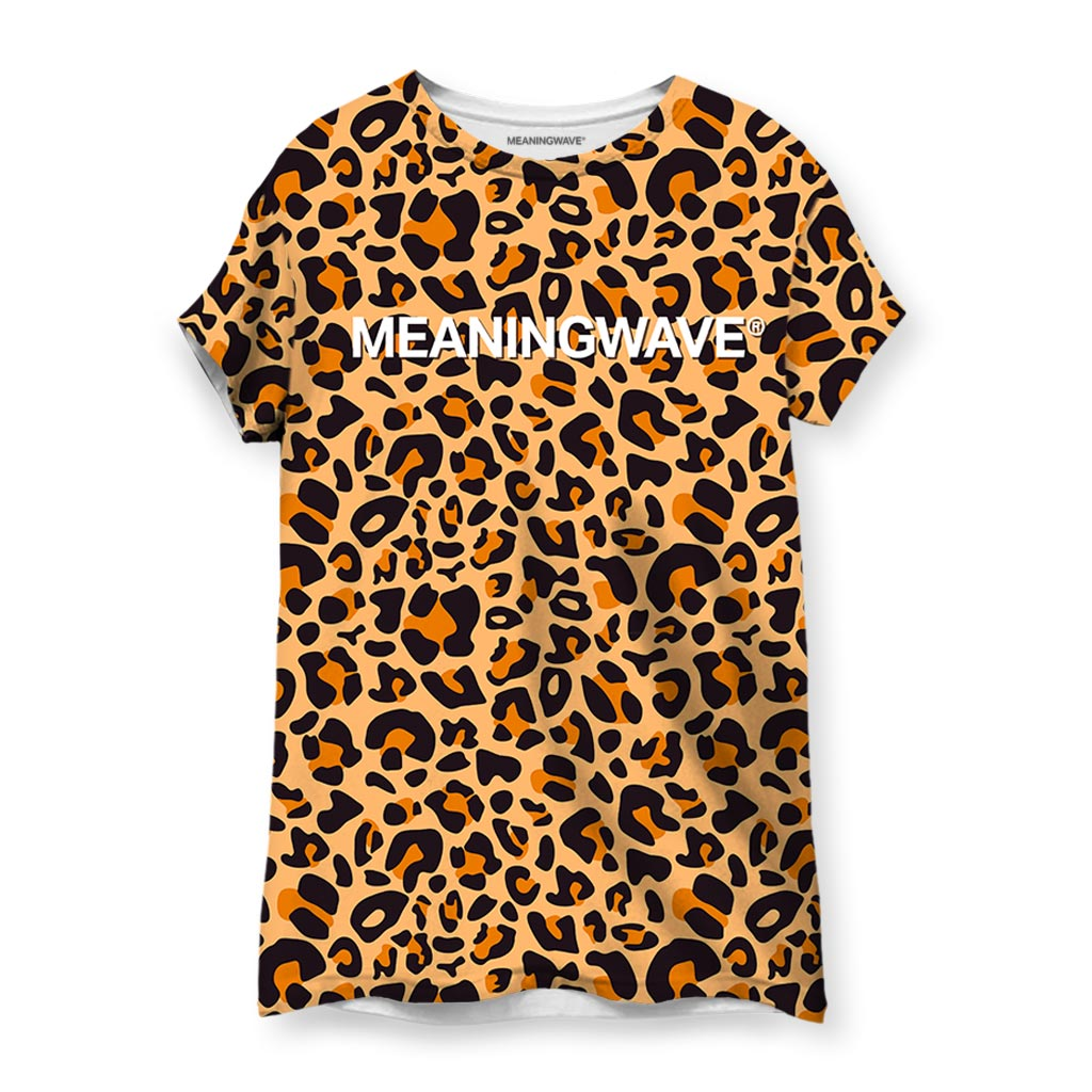 Meaningwave Leopard Women's T-Shirt
