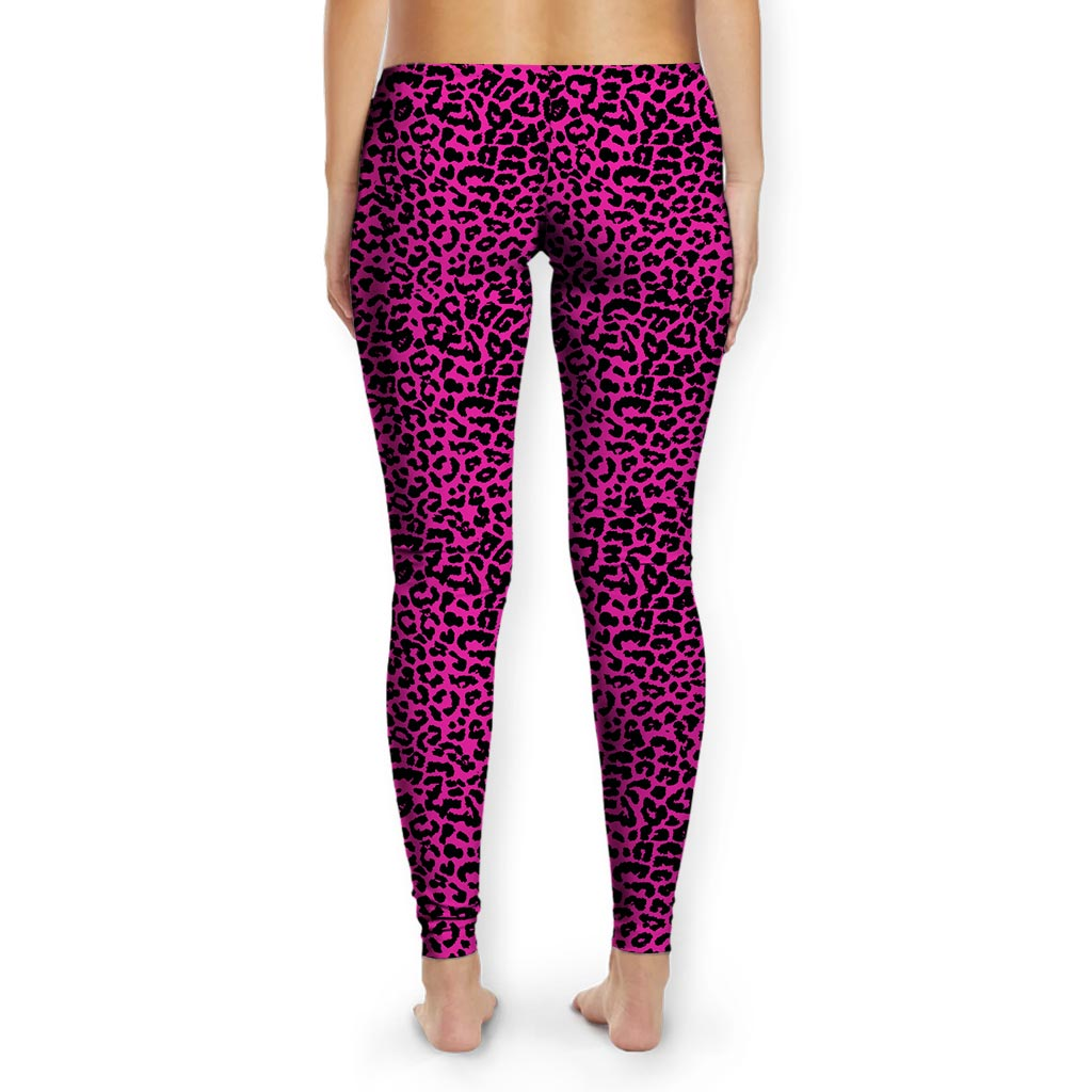 Meaningwave Neon Leopard Women's Tights