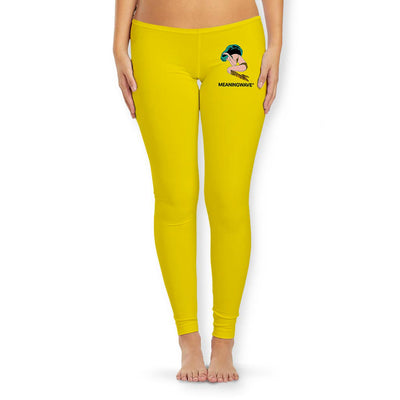 Meaningwave - Yellow Lum Women's Tights