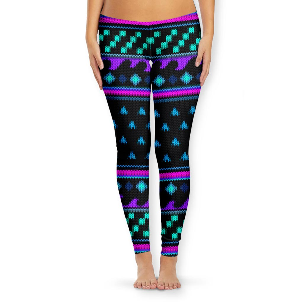 MEANINGWAVE CHRISTMAS 2 Women's Tights