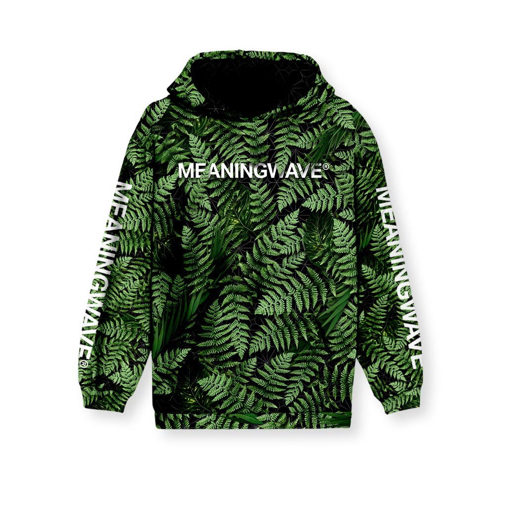 MEANINGWAVE AESTHETIC FERN Kid's Hoodie