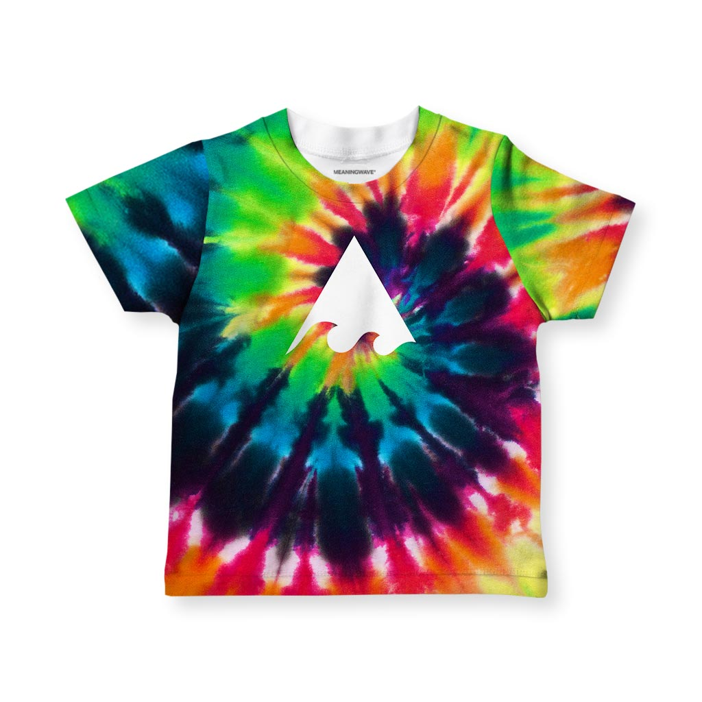 Meaningwave Tyedye Kid's T-Shirt
