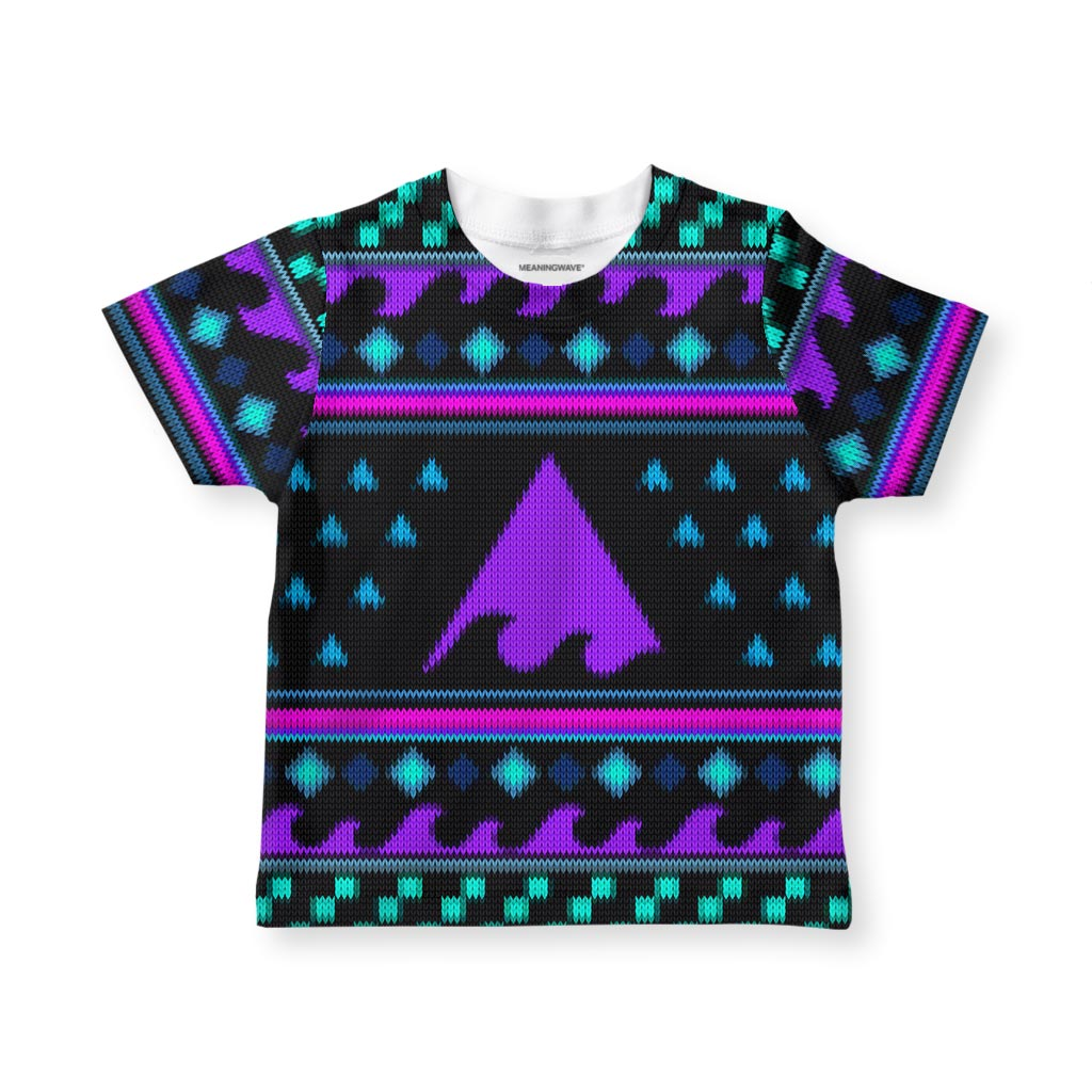 MEANINGWAVE CHRISTMAS 2 Kid's T-Shirt
