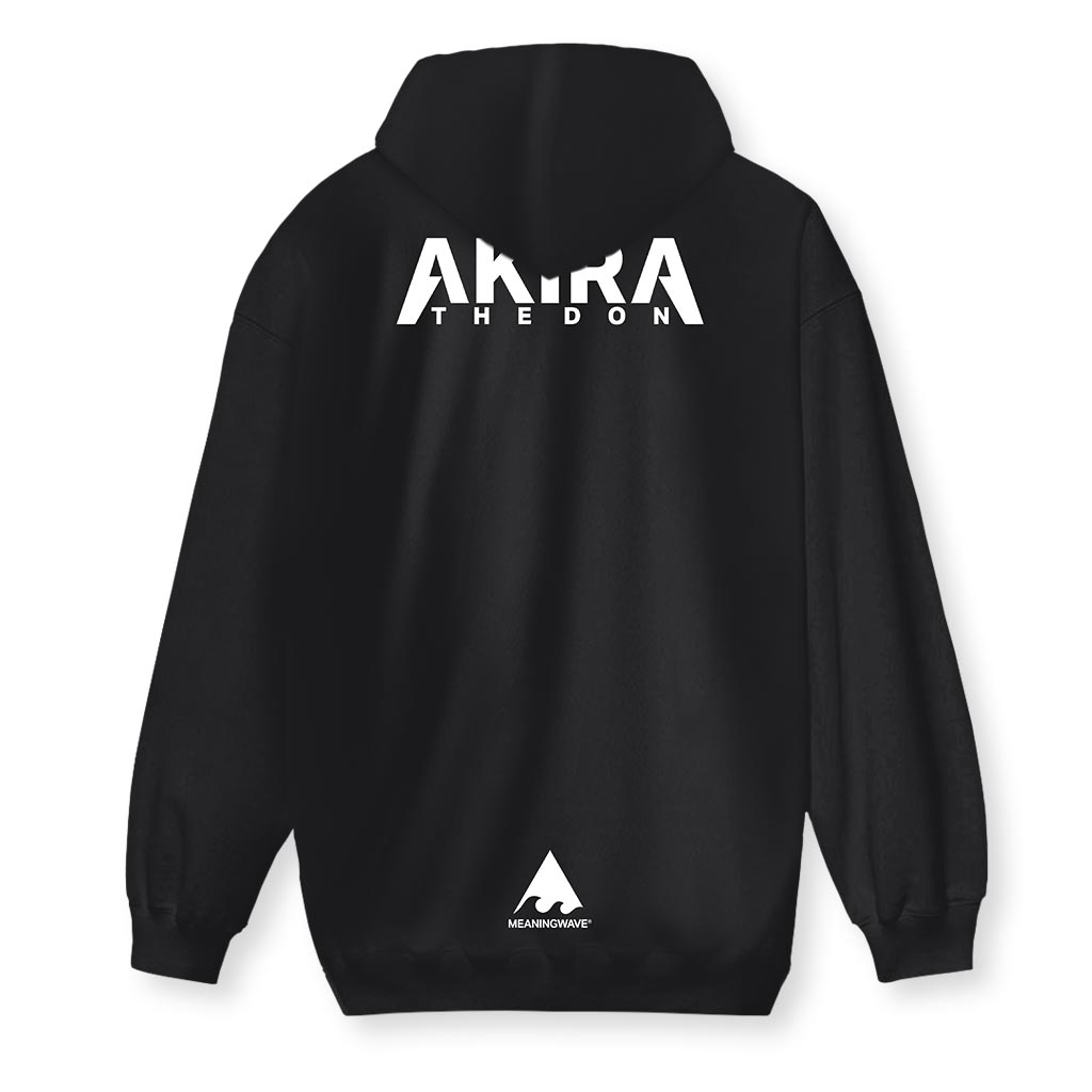 Akira The Don - MANGA MUSIC Men's Zip-Up Hoodie