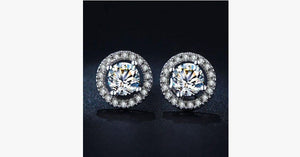 Cubic Stud Earring - FREE SHIP DEALS