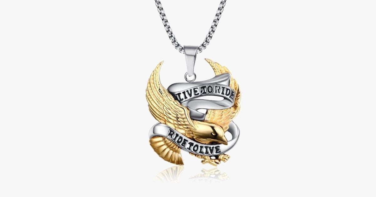 Live to Ride Pendant - FREE SHIP DEALS