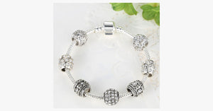 Elegant Crystal Charm Bracelet - FREE SHIP DEALS