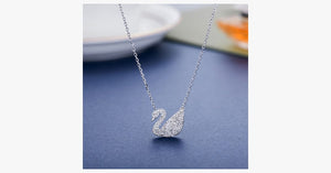Elegant Crystal Swan Pendant - FREE SHIP DEALS