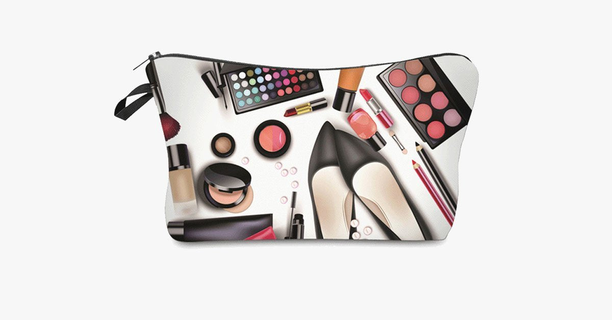 Magic Cosmetic Travel Bag - Smooth Zipper Closure - Perfect to Organize Your Cosmetics!