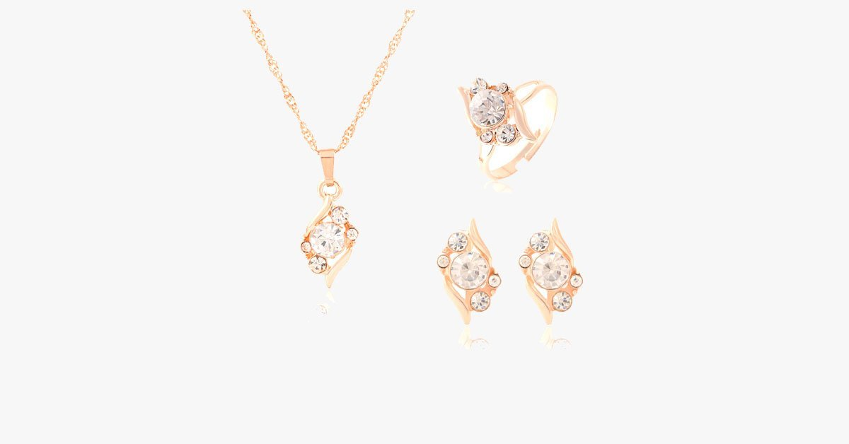 Austrian Crystal Bridesmaid Necklace Set - FREE SHIP DEALS