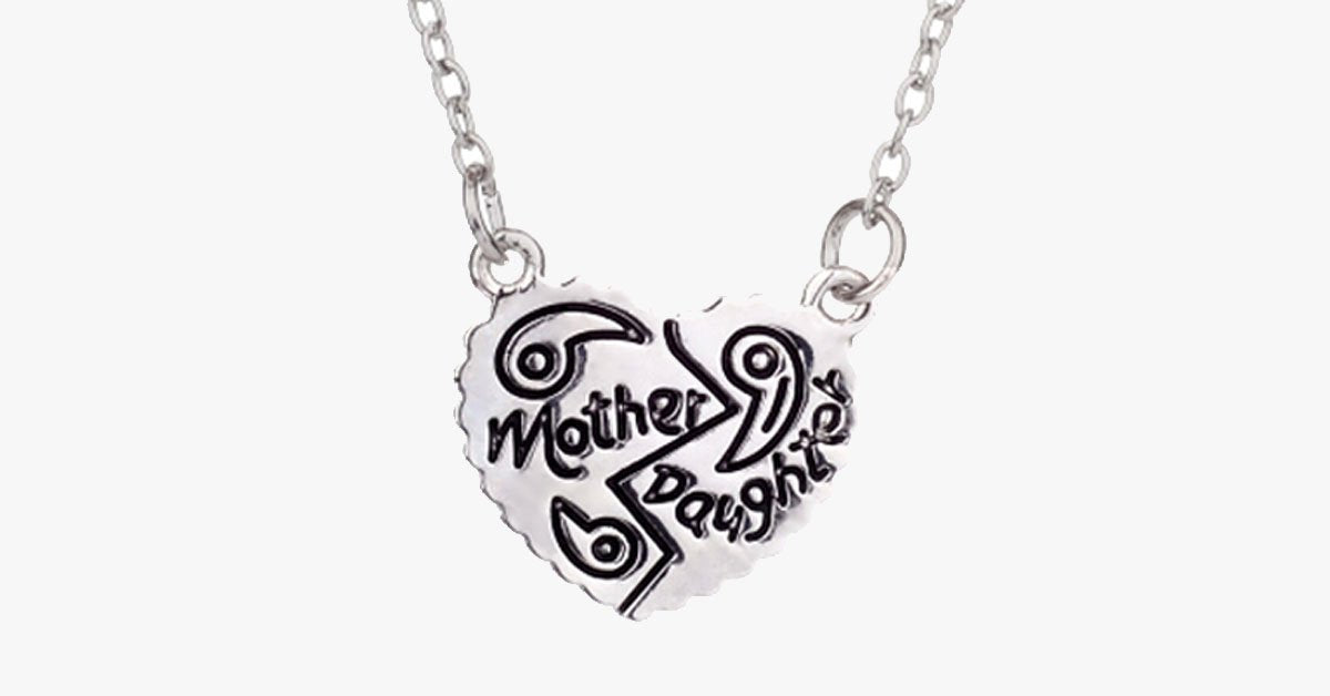 Mother Daughter Love Pendant - FREE SHIP DEALS