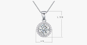 Circle Crystal Pendant - FREE SHIP DEALS