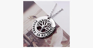 Forever in My Heart-Tree Pendant - FREE SHIP DEALS