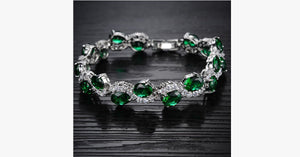 Green Emerald Exquisite Bracelet - FREE SHIP DEALS
