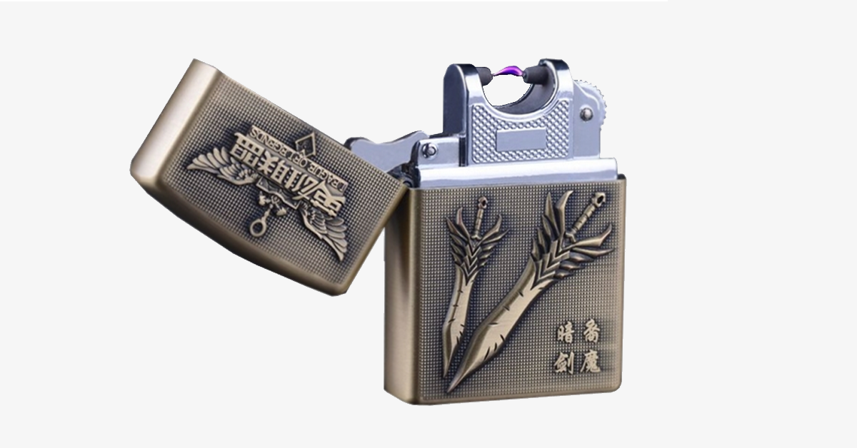 League Inspired Rechargeable Windproof Lighter - FREE SHIP DEALS