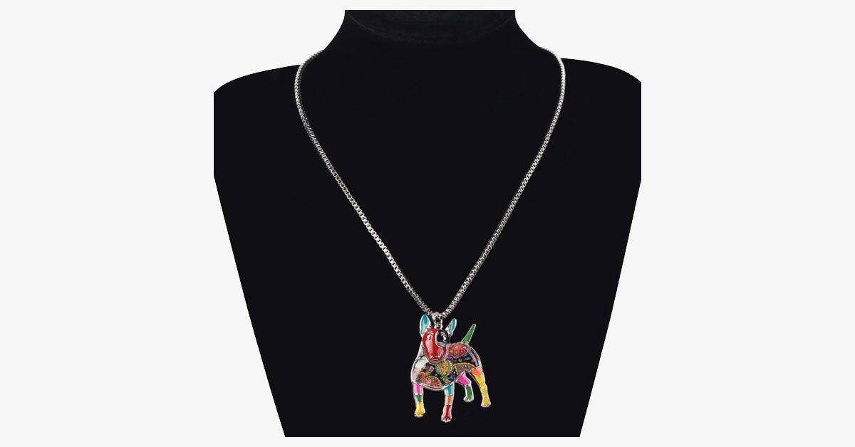 Bull Terrier Pendant Necklace - FREE SHIP DEALS