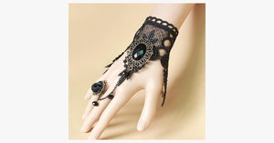 Enchanting Ring-to-Wrist Bracelet - FREE SHIP DEALS
