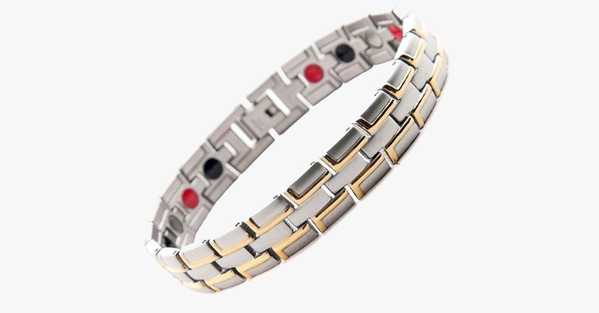 Healing Magnetic Stainless Steel Bracelet - FREE SHIP DEALS