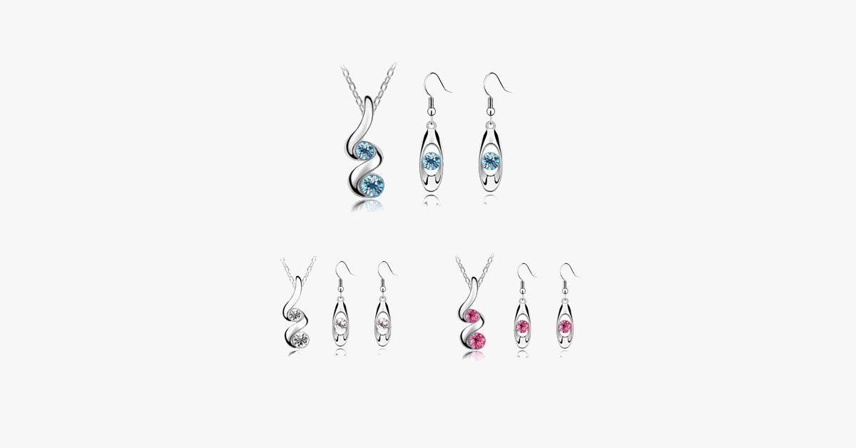 Beach Wave Jewelry Set - FREE SHIP DEALS