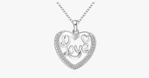 Exquisite Love Heart Pendant - FREE SHIP DEALS