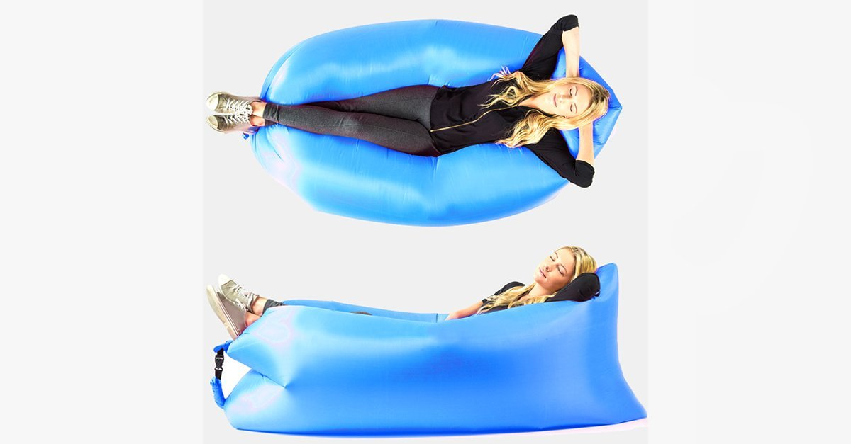 Outdoor Inflatable Lounger - FREE SHIP DEALS
