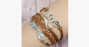 Love Infinity Owl - FREE SHIP DEALS