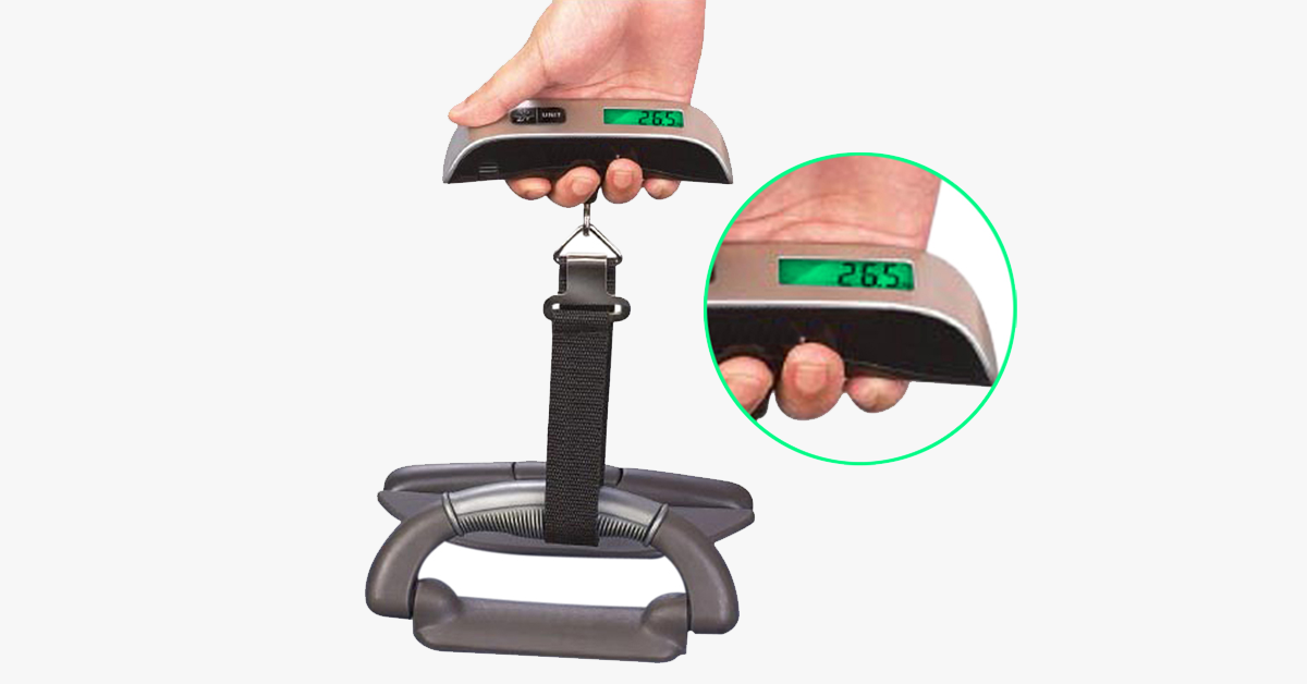 Digital Hand Held Luggage Scale - FREE SHIP DEALS